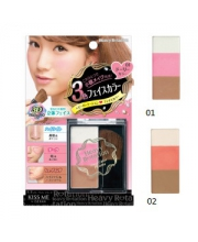 Isehan Heavy Rotation Face Color Palette Трехцветная палетта