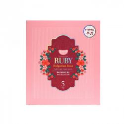 KOELF Ruby & Bulgarian Rose Гидрогелевая маска для лица с рубином