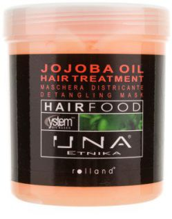 Rolland UNA Hair Food Jojoba Маска для волос с Маслом жожоба